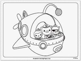 octonauts coloring colouring pages free coloring pages 17 oct