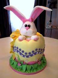 Decorate Easter Bunny Cake by Easter Bunny Cake If Only I Was This Dexterous With Fondant