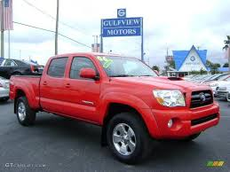nissan tacoma 2006 car picker red toyota tacoma