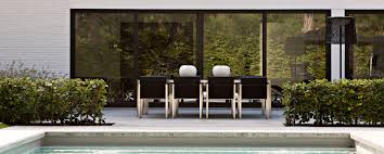 Modern Garden Table And Chairs Fueradentro Outdoor Design Furniture