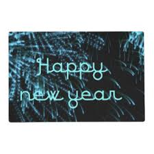 new year placemats happy new year placemats zazzle
