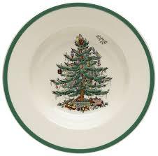 spode tree soup plate rimmed soup bowls