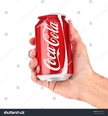 Coca Cola Can Six Flags Royalty Free Kazan Russia June 5 2015 Hand With U2026 287005871
