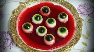 Diy Halloween Treats How To Make Jello Eyeballs Treats On Halloween Youtube