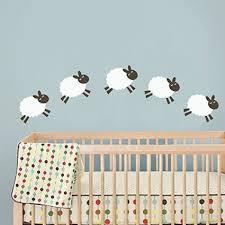 stickers mouton chambre bébé mouton sticker mural chambre de bébé sticker mural nursery