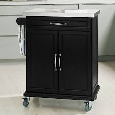 kitchen cart with cabinet amazon com haotian fkw13 sch wood kitchen cabinet kitchen