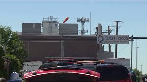 Wildfire Chicago Yelp by Hazmat Situation At Koch Foods In Irving Park Sends 3 To Area