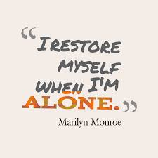 picture marilyn monroe quote about alone quotescover com