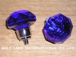purple glass door knobs blue glass door handles