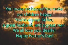 fathers day messages from to husband happy new year 2017