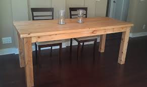 how to make a dinner table popular kitchen theme with build a farmhouse table dave and kelly