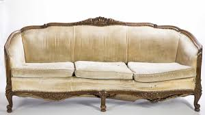 Victorian Chesterfield Sofa For Sale by Furniture French Provincial Sofa Retro Vinyl Couch Antique