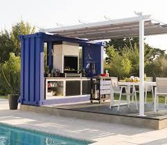 cuisine d été en bois cuisine d extérieur des cuisines d été qui donnent envie