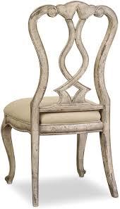 hooker furniture dining room chatelet splatback side chair 5350 75410