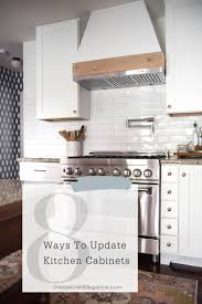how to update kitchen cabinets without replacing them 8 ways to update kitchen cabinets elegance