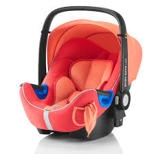 peach car britax romer baby safe i size group 0 plus baby car seat in coral