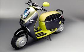 mini scooter e concept widescreen exotic bike wallpapers 02 of 33
