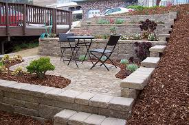 retaining u0026 garden walls landscaping earthscapes