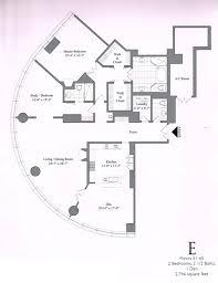Floor Plans Chicago Penthouses In Chicago Floor Plans Trump Tower Condos Floor 51