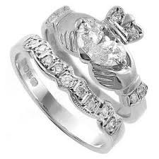 claddagh wedding ring sets claddagh wedding bands and rings handmade in ireland