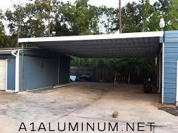 Steel Car Port Steel Carport In Houston A 1