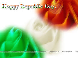 Indian Flag Standard Size Republic Day Wishes With Rose Flowers Indian Flag With Roses D