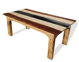 slate wood coffee table designer slate and wood dining table free range designs blog