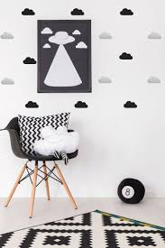 Stickers Muraux Nuages Blancs by