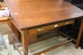 Restoration Hardware Drafting Table Furniture Antique Bakers Table Antique Drafting Table Wooden