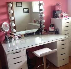 Ikea Malm Vanity Table Vanities Ikea Malm Dressing Table Used As Makeup Vanity Chair Is
