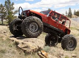 monster jeep extreme wheel men jeep gene the spokesman review