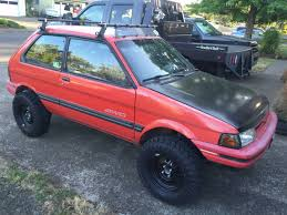 custom lifted subaru 1991 subaru justy