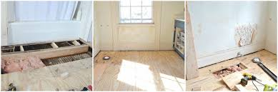 How To Repair Laminate Floors Patching And Repairing Subfloor At Charlotte U0027s House