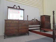 mahogany bedroom set ebay