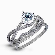 twisted shank engagement ring 18k white gold twisted shank engagement ring set fabled collection