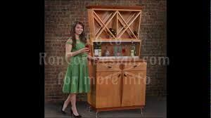 martini bar furniture dragonfly martini u0026 wine bar cabinet 2013 ron corl design youtube