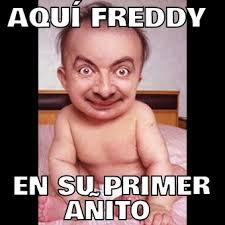 Meme Freddy - aqu罸 freddy en su primer a繿ito memes en quebolu