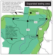 Marietta Ohio Map by Order Expands Required C8 Testing Area News Sports Jobs News