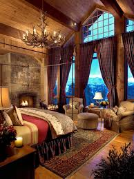 bedroom bedroom log cabin home design wall brown base sfdark