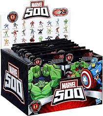 blind bags toys marvel 500 collectible mini figure wave 1 blind bags of 24