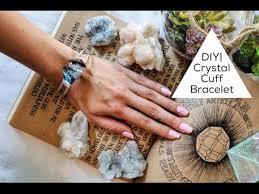 crystal bracelet diy images Diy crystal cuff bracelet jpg