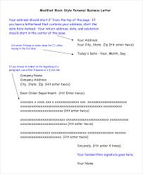 business letter layout business letter format sample sample