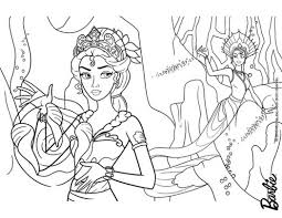 barbie mermaid coloring pages classic picture barbie