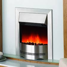 unique dimplex elda stainless steel electric fire unbeatable prices