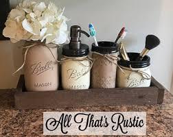 Rustic Bathroom Accessories Sets - rustic bathroom etsy
