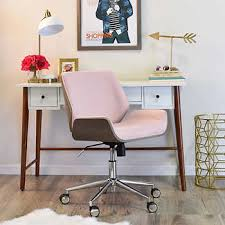 elle decor remy task chair pink