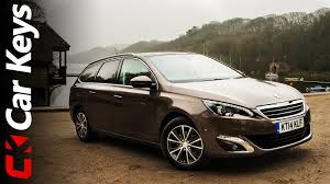 peugeot car one peugeot 308 sw 2015 review car keys youtube