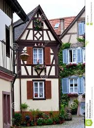 traditional german house stock images image 15748744