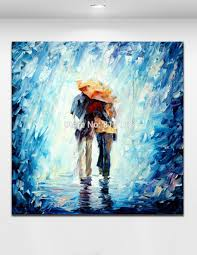 paintings for home decor 100 handpainted abstract oil painting love couple canvas painting