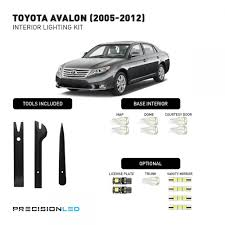 toyota avalon premium led interior lighting package 2012 2011